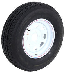 "Karrier ST225/75R15 Radial Tire with 15"" White Spoke Wheel - 5 on 4-1/2"" - Load Range D"