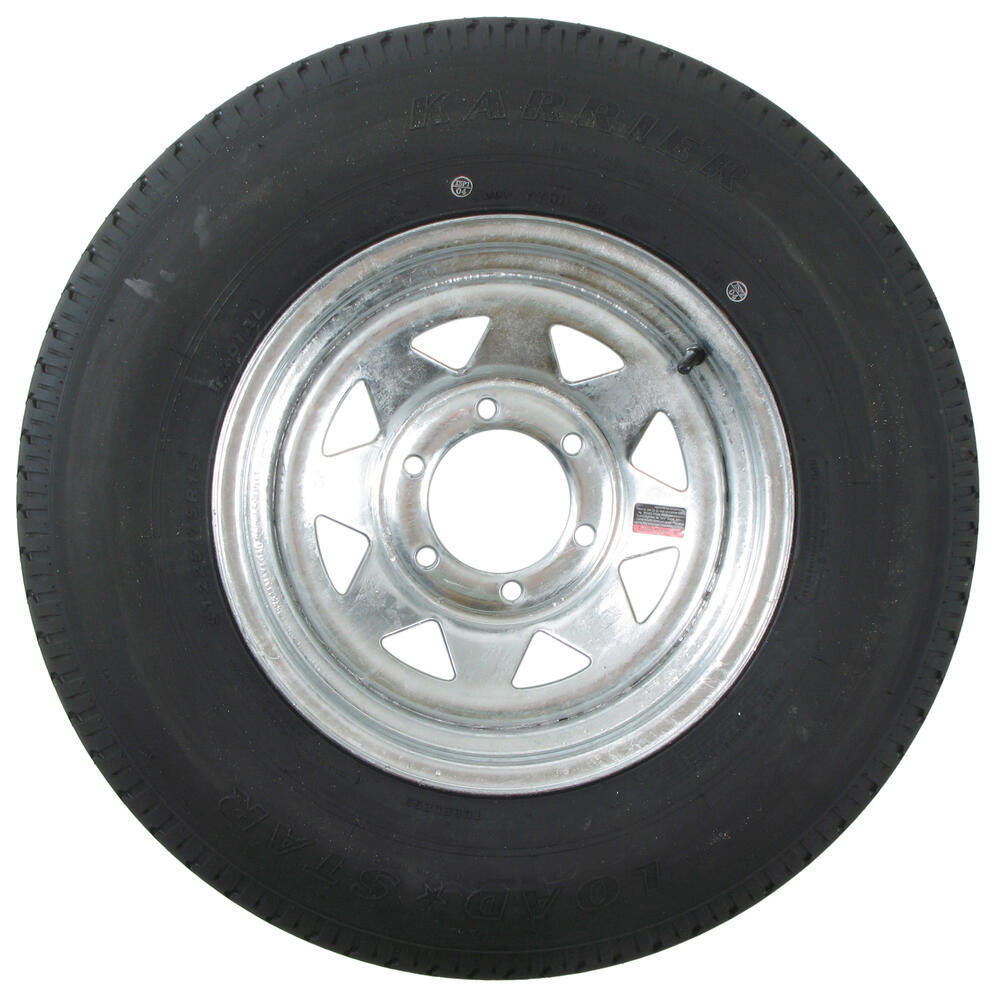 Trailer Wheels Rims : Karrier st r radial trailer tire with