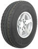 "Karrier ST235/85R16 Radial Trailer Tire with 16"" Aluminum Wheel with Offset - 8 on 6-1/2 - LR E"