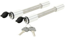 "Rapid Hitch Trailer Hitch Lock and Adjustment Pin Lock Set for 2"" and 2-1/2"" Hitches"