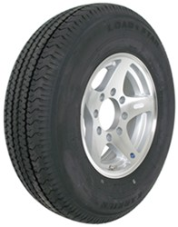 "Karrier ST235/80R16 Radial Trailer Tire with 16"" Aluminum Wheel w/ Offset - 8 on 6-1/2 - LR E"