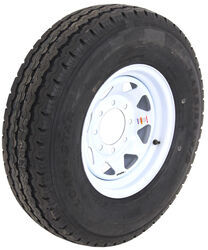 "Karrier ST235/85R16 Radial Trailer Tire w/ 16"" White Wheel - 8 on 6-1/2 - Load Range F"