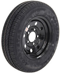 "Kenda Karrier ST145/R12 Radial Trailer Tire with 12"" Black Mod Wheel - 5 on 4-1/2 - LR D"