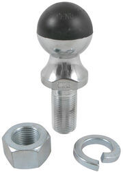 "Greaseless HardBall Hitch Ball with 1-7/8"" Diameter and 1"" Shank - 5,000 lbs GTW - Chrome"