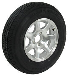 "Kenda Karrier ST205/75R15 Radial Tire w/ 15"" Series T02 Aluminum Wheel - 5 on 4-1/2 - LR D"