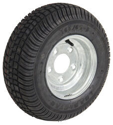 "Kenda 165/65-8 Bias Trailer Tire with 8"" Galvanized Wheel - 5 on 4-1/2 - Load Range C"