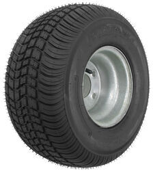 "Kenda 215/60-8 Bias Trailer Tire with 8"" Galvanized Wheel - 5 on 4-1/2 - Load Range C"