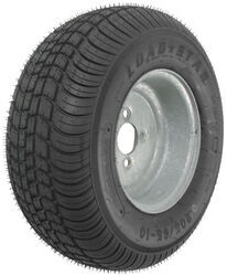 "Kenda 205/65-10 Bias Trailer Tire with 10"" Galvanized Wheel - 4 on 4 - Load Range B"