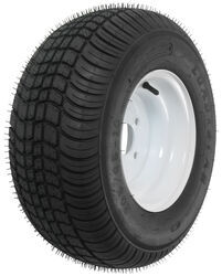 "Kenda 205/65-10 Bias Trailer Tire with 10"" White Wheel - 4 on 4 - Load Range C"