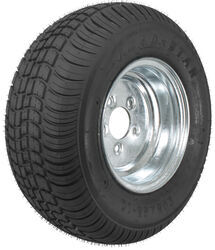 "Kenda 205/65-10 Bias Trailer Tire with 10"" Galvanized Wheel - 5 on 4-1/2 - Load Range C"