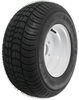 "Kenda 205/65-10 Bias Trailer Tire with 10"" White Wheel - 4 on 4 - Load Range D"