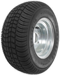 "Kenda 205/65-10 Bias Trailer Tire with 10"" Galvanized Wheel - 5 on 4-1/2 - Load Range E"