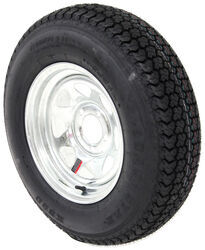 "Loadstar ST205/75D14 Bias Trailer Tire with 14"" Galvanized Wheel - 5 on 4-1/2 - Load Range C"