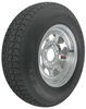 "Loadstar ST215/75D14 Bias Trailer Tire with 14"" Galvanized Wheel - 5 on 4-1/2 - Load Range C"