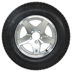 "Loadstar ST205/75D15 Bias Tire w/ 15"" Series 04 Star Mag Aluminum Wheel - 5 on 4-1/2 - LR C"