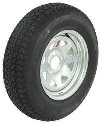 "Loadstar ST205/75D15 Bias Trailer Tire w/ 15"" Galvanized Wheel - 5 on 4-1/2 - Load Range C"