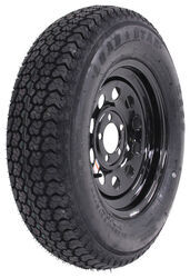 "Loadstar ST205/75D15 Bias Trailer Tire w/ 15"" Black Mod Wheel - 5 on 4-1/2 - Load Range C"