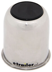 "Americana Trailer Wheel Center Cap - Stainless Steel - 3.19"" Pilot"