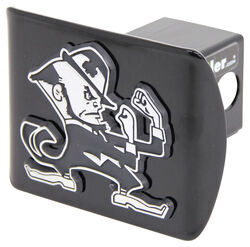 "Notre Dame Chrome Mascot Emblem 2"" Hitch Cover"
