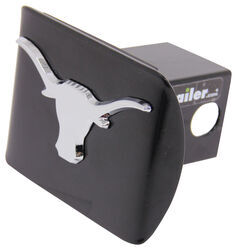 "Texas Chrome Mascot Emblem 2"" Hitch Cover"