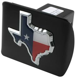 "State of Texas Color Emblem 2"" Hitch Cover"