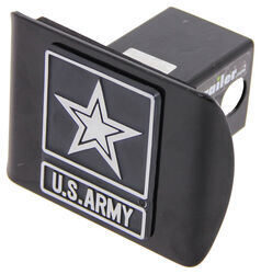 "Army Of One Trailer Hitch Receiver Cover - 2"" Hitches - Chrome Emblem"