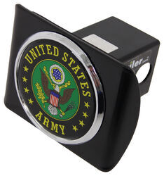 "US Army Seal Trailer Hitch Receiver Cover - 2"" Hitches - Color Emblem"