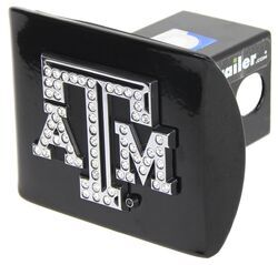 Texas A&amp;M University Aggies Crystal Emblem 2&quot; Trailer Hitch <strong>Receiver</strong> Cover - AMG102493