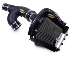 Airaid CAD Cold Air Intake System with SynthaMax Dry Filter - Stage 2 - Open - Black