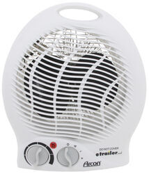 Arcon Portable Electric Heater with Tip-Over Safety Switch - 1,500 Watts