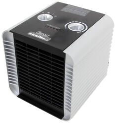 Arcon Compact Ceramic Heater with Tip-Over Safety Switch - 1,500 Watts