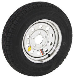 "Taskmaster ST175/80D13 Bias Tire w/ 13"" Steel Mod Wheel - 5 on 4-1/2 - LR C - Silver PVD Finish"