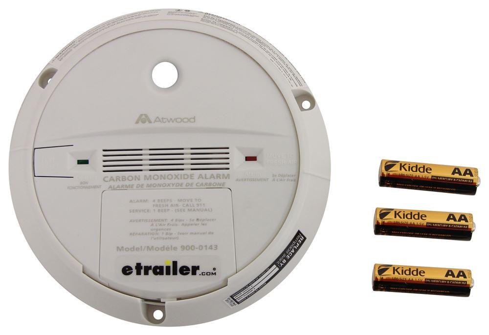 Atwood Rv Carbon Monoxide Detector Non Digital White