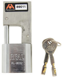 "Atwood AMPlock Trailer Coupler Latch Lock - Stainless Steel - 2 Keys - 3-5/8"" x 1-5/8"""