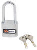Atwood AMPlock Padlock - Stainless Steel - Chrome Plated Shackle