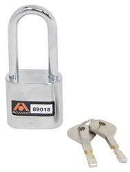 Atwood AMPlock Padlock - Stainless Steel - Chrome Plated Shackle - AT89018