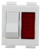 Single-Panel On/Off Switch for Atwood Gas and Electric Water Heaters - White