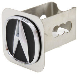 "Acura Trailer Hitch Cover - 2"" Hitches - Stainless Steel - Chrome and Black"