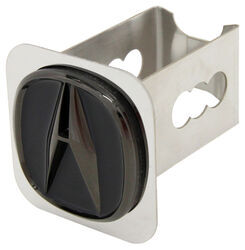 "Acura Trailer Hitch Cover - 2"" Hitches - Stainless Steel - Black Pearl"