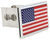 au-tomotive gold hitch covers united states standard aut-flag-c