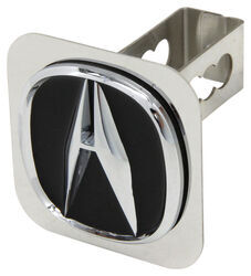 "Acura Trailer Hitch Cover - 1-1/4"" Hitches - Stainless Steel - Chrome and Black"