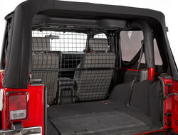 Bestop Custom <strong>Pet</strong> Barrier for Jeep - Powder Coated Steel - B4250101