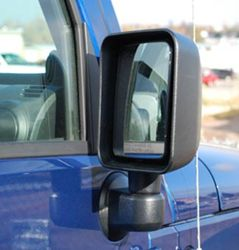 Bestop 2008 Jeep Wrangler Replacement Mirrors