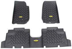 Bestop Custom Auto Floor Liners   Front And Rear   Black. Bestop Floor Mats