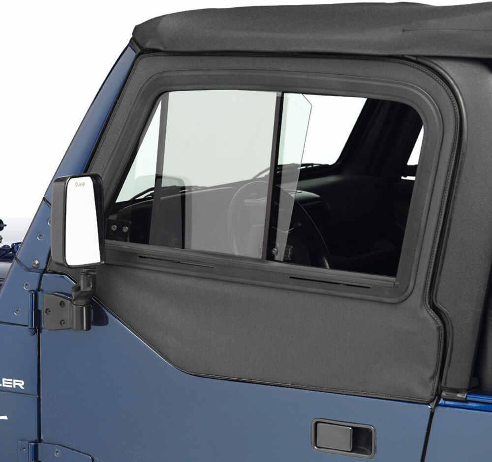 1997 Jeep Tj Bestop Upper Door Sliders For Jeep Wrangler