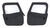 bestop jeep doors full door 2-piece soft for wrangler 1997-2006 - black denim