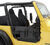 bestop jeep doors front door element with storage bags for 1997-2006 - black denim