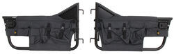 Bestop Element Front Doors with Storage Bags for 1976-1995 Jeep - Black Denim