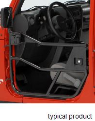 Bestop HighRock 4x4 Element Front Doors for Jeep - Matte Black
