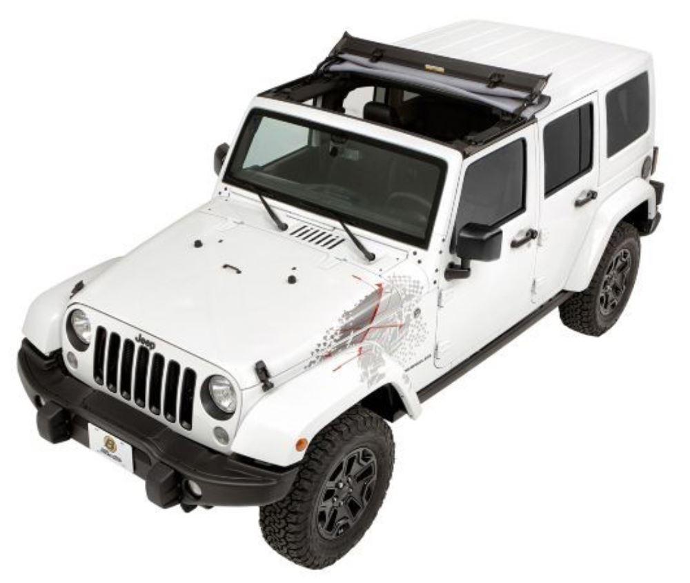 2011 jeep wrangler bestop sunrider for jeep hard top black twill. Black Bedroom Furniture Sets. Home Design Ideas